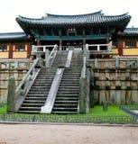 De tempel van Bulguksa Royalty-vrije Stock Fotografie