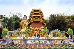 De Tempel van Chainese Stock Foto's