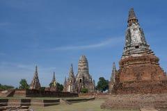 De tempel van Chaiwattanaram Stock Foto