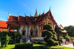 De tempel van Chalong Stock Afbeelding