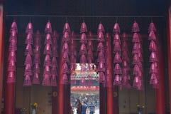 De tempel van Chiinesebudhist Stock Afbeelding