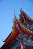 De tempel van China Royalty-vrije Stock Afbeelding