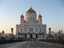 De tempel van Christus in Moskou 2 Stock Foto