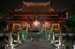 De tempel van Confucuis stock afbeeldingen