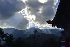 De tempel van Congshen Stock Foto