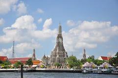 De tempel van Dawn, Wat Arun Royalty-vrije Stock Foto's