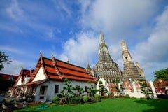 De tempel van Dawn, Wat Arun in Bangkok Stock Afbeeldingen