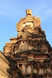 De Tempel van de aap (Tempel Hanuman) in Hampi, India. Stock Foto's