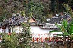 De tempel van de aarden structuren van Fujian royalty-vrije stock foto's