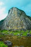 De Tempel van de Bergkhao Cheejan van Boedha in Pattaya Stock Afbeelding