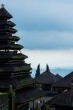 De tempel van de Besakihmoeder op Bali, Indonesië Stock Foto