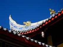 De tempel van de draak Royalty-vrije Stock Foto's