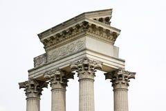 De tempel van de haven Royalty-vrije Stock Afbeelding