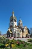 De tempel van de Heilige gelijke van de Apostelen Grote Prins Vladim Stock Fotografie