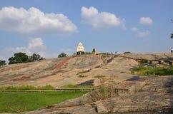 De Tempel van de heuveltop Stock Afbeeldingen