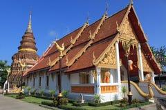 De tempel van de Kunst Lanna royalty-vrije stock foto