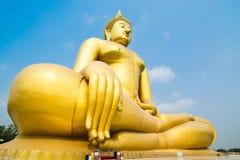 De Tempel van de leren riemthailand van Wat muang ANG Royalty-vrije Stock Foto's