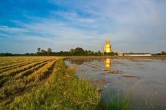 De Tempel van de leren riemthailand van Wat muang ANG Royalty-vrije Stock Foto