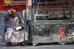De tempel van de monnik Stock Afbeelding