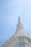 De Tempel van de pagode in de heldere hemel Royalty-vrije Stock Fotografie