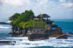 De Tempel van de Partij van Tanah, Bali Stock Foto