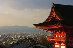 De Tempel van de stad Stock Fotografie