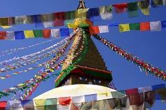 De tempel van de vlag stock fotografie