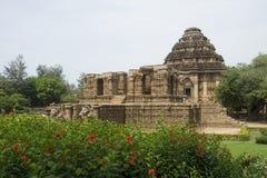 De Tempel van de zon, Konark Stock Afbeeldingen