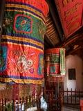 De tempel van de Zoon van Ngoc van het hol in Hanoi royalty-vrije stock foto
