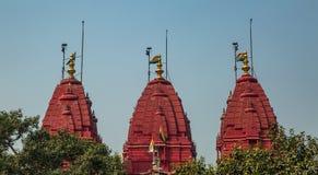 De Tempel van Digambarjain Stock Foto's