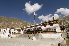 De tempel van Drepung in lhasa Stock Afbeelding