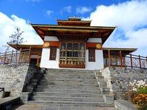 De tempel van Drukwangyal bij Dochula-Pas, Bhutan royalty-vrije stock foto