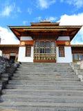 De tempel van Drukwangyal bij Dochula-Pas, Bhutan stock foto's