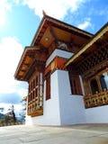 De tempel van Drukwangyal bij Dochula-Pas, Bhutan stock afbeelding