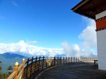De tempel van Drukwangyal bij Dochula-Pas, Bhutan stock afbeeldingen