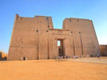 De Tempel van Edfu Royalty-vrije Stock Afbeeldingen