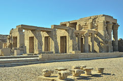 De tempel van Edfu, Egypte Royalty-vrije Stock Foto's