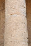 De Tempel van Edfu in Egypte Stock Afbeelding