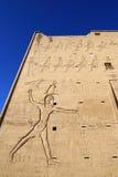 De Tempel van Edfu in Egypte Stock Foto's