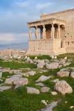 De tempel van Erechtheum Stock Fotografie