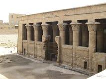 De Tempel van Esna Royalty-vrije Stock Afbeeldingen