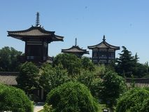 De Tempel van Famen Stock Foto