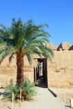 De tempel van Famouse karnak in Luxor stock afbeelding