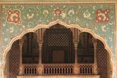De Tempel van Galtaji Royalty-vrije Stock Fotografie