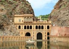 De Tempel van Galtaji in Jaipur. Royalty-vrije Stock Afbeeldingen
