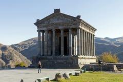 De tempel van Garni Stock Foto's
