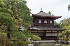 De tempel van Ginkakuji in Kyoto, Japan Stock Foto's