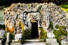 De tempel van Goa gajah Royalty-vrije Stock Foto's