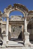 De Tempel van Hadrian Royalty-vrije Stock Afbeeldingen