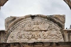 De tempel van Hadrian Stock Foto's